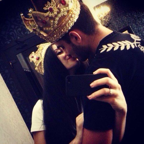 imagenes de amor king y queen