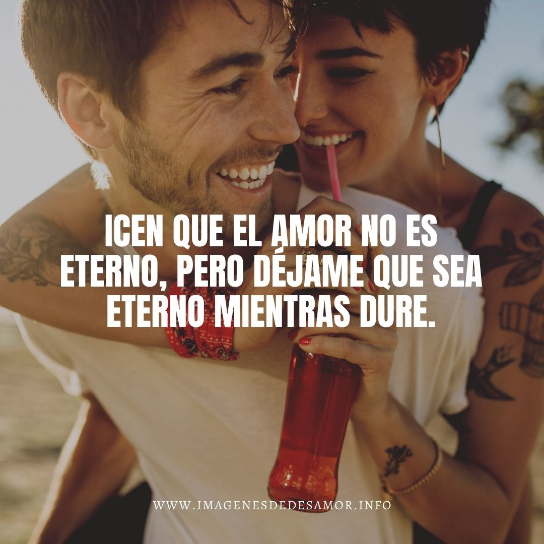 Amor infinito frases